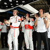 Mechanic at Italian GP PaddockTalk/Courtesy Of McLaren