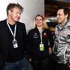 Gordon Ramsay at British GP,<br /> Garry Paffett at British GP,<br /> Lyndy Redding at British GP PaddockTalk/Courtesy Of McLaren