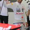 Lewis Hamilton at European GP PaddockTalk/Courtesy Of McLaren