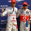 Jenson Button and Lewis Hamilton at Italian GP PaddockTalk/Courtesy Of McLaren