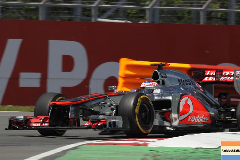 Jenson Button at Canadian GP PaddockTalk/Courtesy Of McLaren