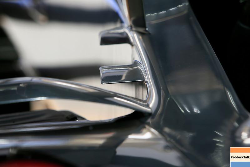 technical detail of Vodafone McLaren Mercedes MP4-27 PaddockTalk/Courtesy Of McLaren