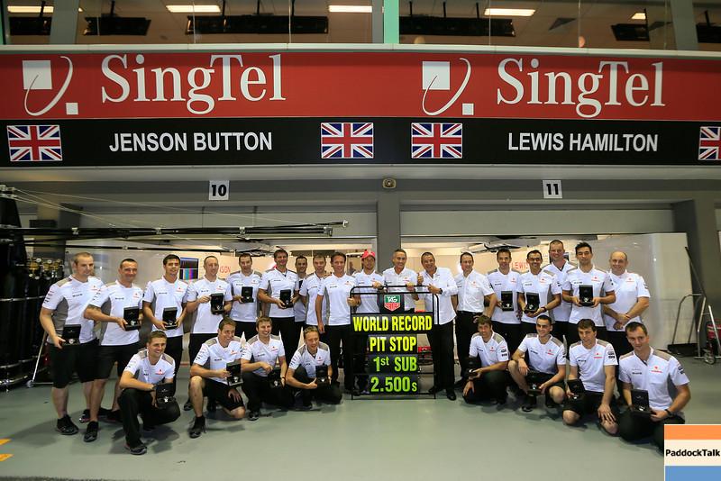 World Record Pit Stop PaddockTalk/Courtesy Of McLaren