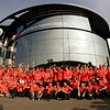 Team celebrates victory of Lewis Hamilton at Italian GP PaddockTalk/Courtesy Of McLaren