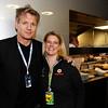 Lyndy Redding at British GP,<br /> Gordon Ramsay British GP PaddockTalk/Courtesy Of McLaren