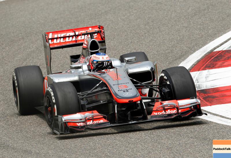 Jenson Button at Chinese GP PaddockTalk/Courtesy Of McLaren