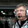 Ross James Brawn at British GP PaddockTalk/Courtesy Of McLaren