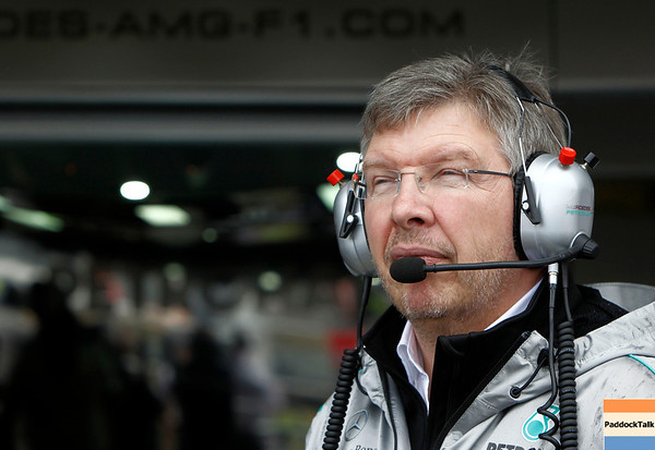 Ross James Brawn at British GP PaddockTalk/Courtesy Of McLaren