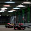 Jenson Button and Lewis Hamilton at Singapore GP PaddockTalk/Courtesy Of McLaren