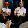 Jenson Button and Martin Whitmarsh at Singapore GP PaddockTalk/Courtesy Of McLaren