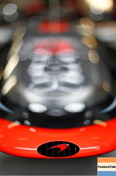 Motorsports: FIA Formula One World Championship 2012, Grand Prix of China, <br /> symbolic shot of MP4-27, Vodafone McLaren Mercedes PaddockTalk/Courtesy Of McLaren
