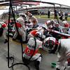 Jenson Button at British GP PaddockTalk/Courtesy Of McLaren