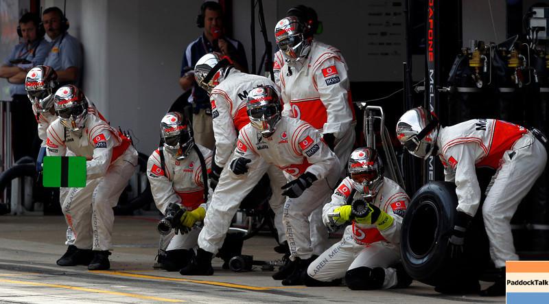 Mechanic of Vodafone McLaren Mercedes at Spanish GP PaddockTalk/Courtesy Of McLaren