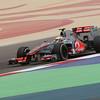 Lewis Hamilton at Bahrain GP PaddockTalk/Courtesy Of McLaren
