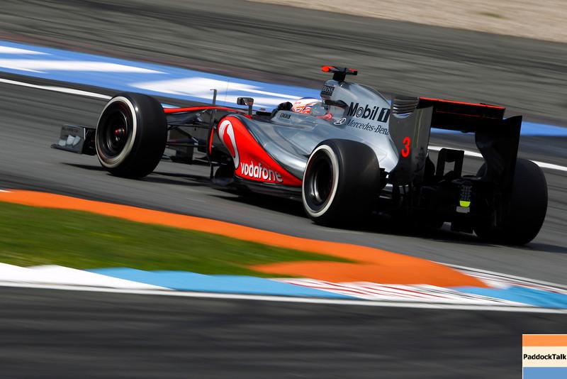 Jenson Button at German GP PaddockTalk/Courtesy Of McLaren