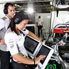 Stephanie Bradshaw at Japanese GP PaddockTalk/Courtesy Of McLaren