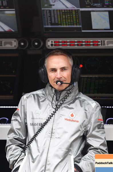 Martin Whitmarsh at Chinese GP PaddockTalk/Courtesy Of McLaren