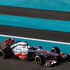 Jenson Button at Abu Dhabi GP PaddockTalk/Courtesy Of McLaren
