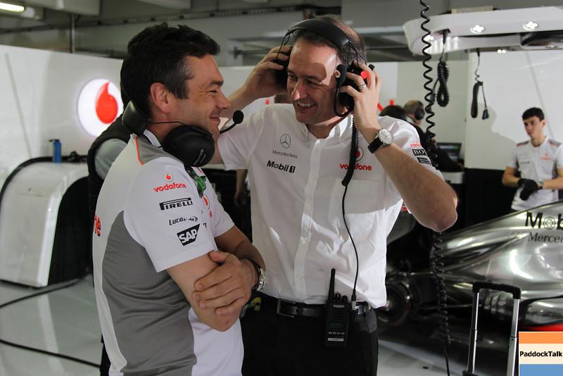 Jonathan Neale at German GP PaddockTalk/Courtesy Of McLaren