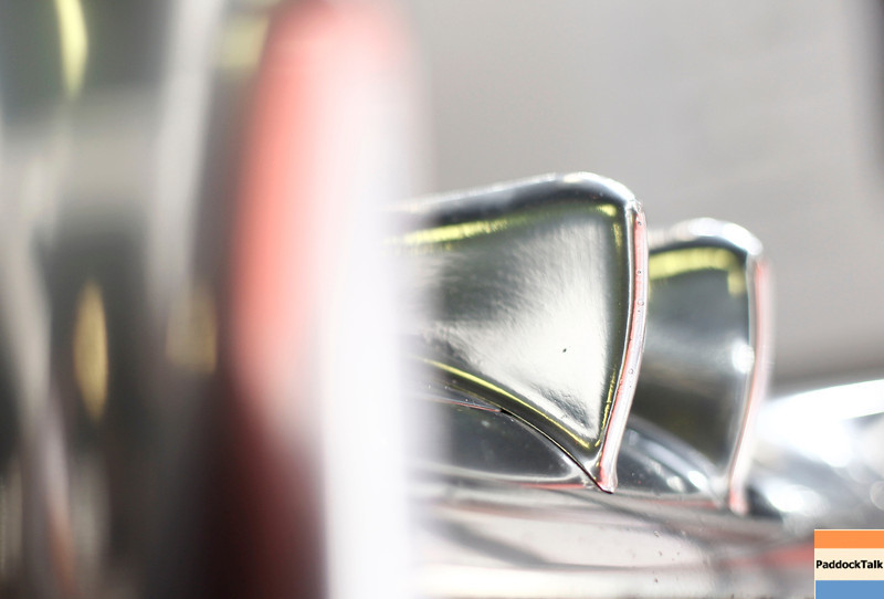 Technical detail at Spanish GP PaddockTalk/Courtesy Of McLaren