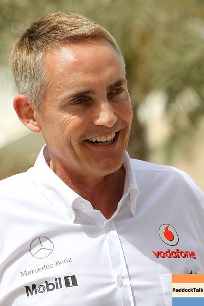 Martin Whitmarsh at Bahrain GP PaddockTalk/Courtesy Of McLaren