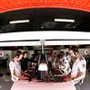 Garage of Vodafone McLaren Mercedes at Spanish GP PaddockTalk/Courtesy Of McLaren