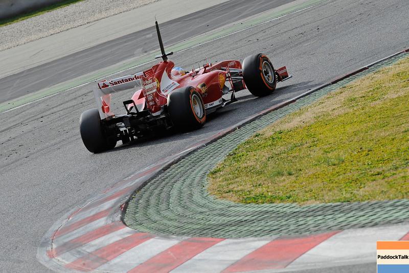 BARCELLONA (SPAGNA) 20/02/2013 - TEST F1 2013 -  <br /> © FOTO STUDIO COLOMBO X FERRARI