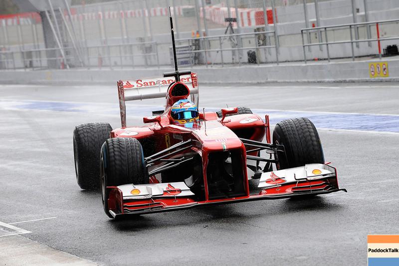 BARCELLONA (SPAGNA) 01/03/2013 - TEST F1 2013 -  <br /> © FOTO STUDIO COLOMBO X FERRARI
