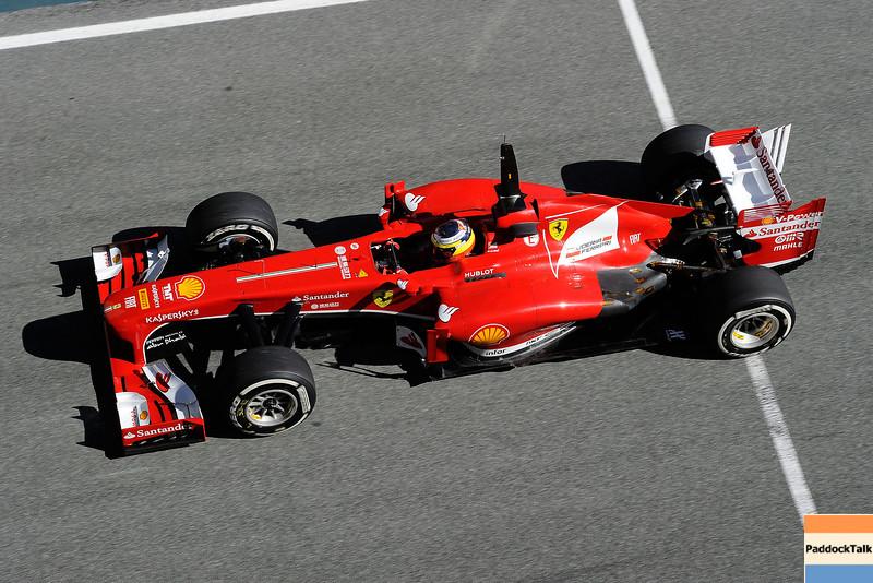JEREZ (SPAGNA) 08/02/2013 - TEST F1 2013 -  <br /> © FOTO STUDIO COLOMBO X FERRARI