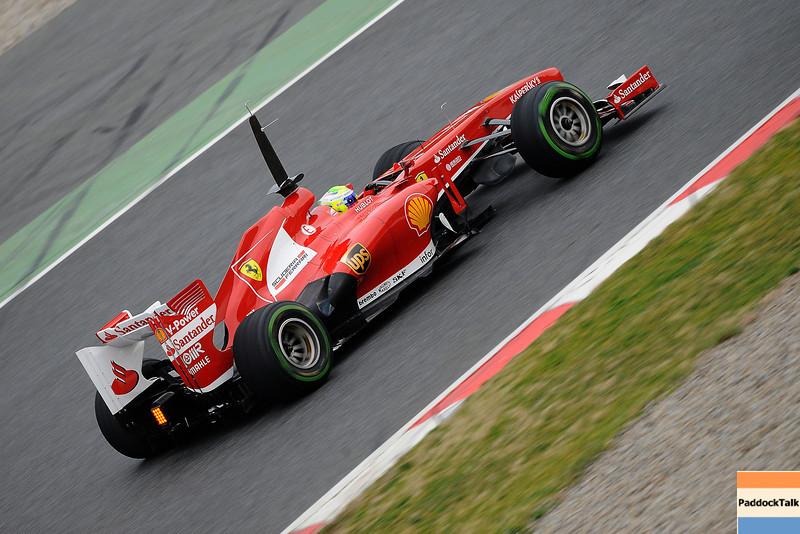 BARCELLONA (SPAGNA) 22/02/2013 - TEST F1 2013 -  <br /> © FOTO STUDIO COLOMBO X FERRARI