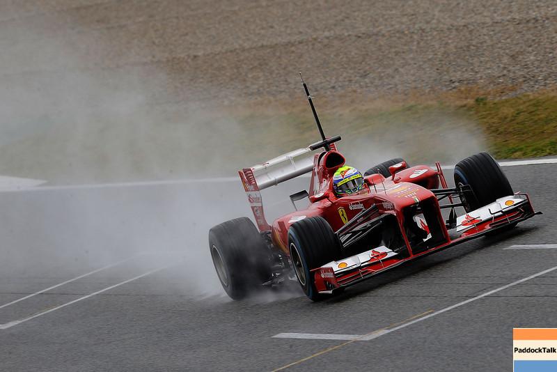 BARCELLONA (SPAGNA) 28/02/2013 - TEST F1 2013 -  <br /> © FOTO STUDIO COLOMBO X FERRARI