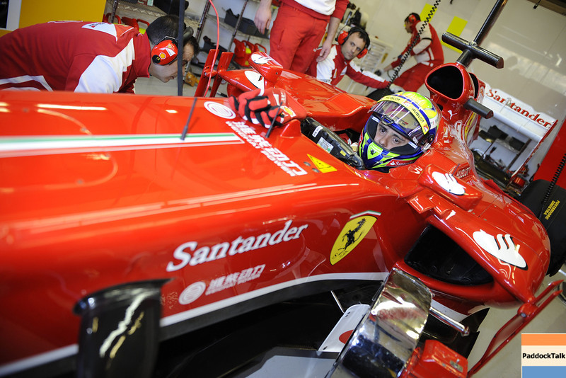 JEREZ 05/02/2013 - TEST F1 2013 - <br /> © FOTO STUDIO COLOMBO