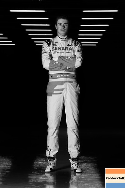 Paul di Resta (GBR) Sahara Force India F1.<br /> Sahara Force India F1 VJM06 Launch, Friday 1st February 2013. Silverstone, England.