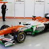 The new Sahara Force India F1 VJM06 is unveiled.<br /> Sahara Force India F1 VJM06 Launch, Friday 1st February 2013. Silverstone, England.