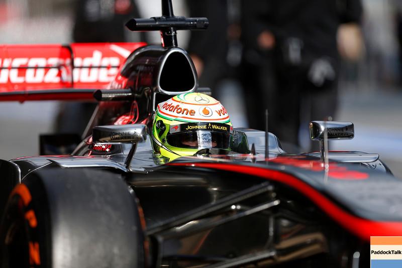 Circuit de Catalunya, Barcelona, Spain<br /> Tuesday 19th February 2013<br /> World Copyright: Andrew Ferraro/LAT Photographic <br /> ref: _79P7073