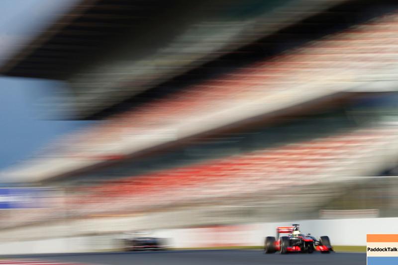 Circuit de Catalunya, Barcelona, Spain<br /> Tuesday 19th February 2013<br /> World Copyright: Glenn Dunbar/LAT Photographic <br /> ref: _89P5193