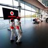 McLaren Technology Centre, Surrey, UK<br /> 31st January 2013 <br /> Jenson Button, McLaren and Sergio Perez, McLaren. <br /> Photo: Vodafone McLaren Mercedes (Copyright Free FOR EDITORIAL USE ONLY) <br /> ref: Digital Image _00P5573