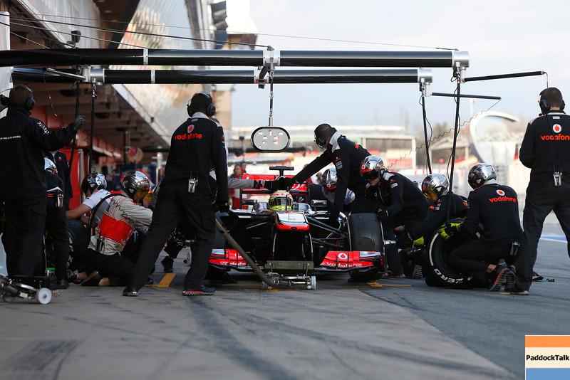 Circuit de Catalunya, Barcelona, Spain<br /> Tuesday 19th February 2013<br /> World Copyright: Andrew Ferraro/LAT Photographic <br /> ref: _79P7410