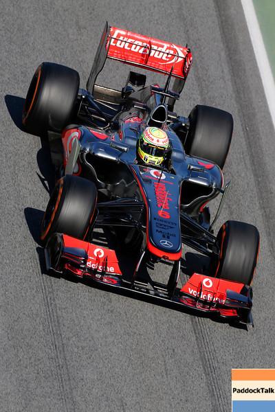 Circuit de Catalunya, Barcelona, Spain<br /> Wednesday 20th February 2013<br /> World Copyright: Steven Tee/LAT Photographic <br /> ref: _14P2204