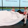 McLaren Technology Centre, Surrey, UK<br /> 31st January 2013 <br /> Sergio Perez, McLaren and Jenson Button, McLaren.<br /> Photo: Vodafone McLaren Mercedes (Copyright Free FOR EDITORIAL USE ONLY) <br /> ref: Digital Image _N7T0079