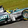 Motorsports: FIA Formula One World Championship 2013, F1 test Jerez, Mercedes GP Launch, Nico Rosberg (GER, Mercedes GP)