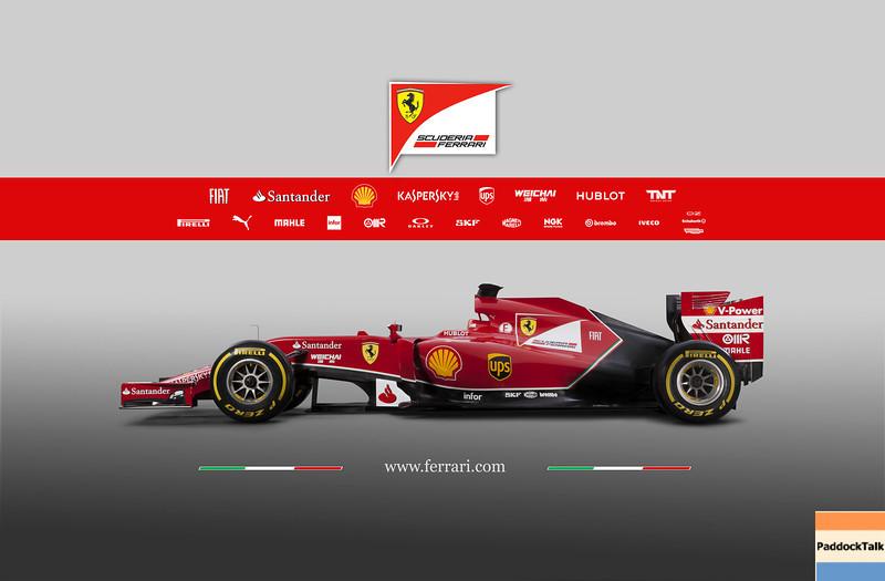 2014 Ferrari Formula One F1 F14-T Courtesy of Ferrari