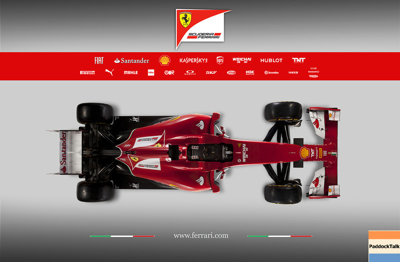 2014 Ferrari Formula One F1 F14-T