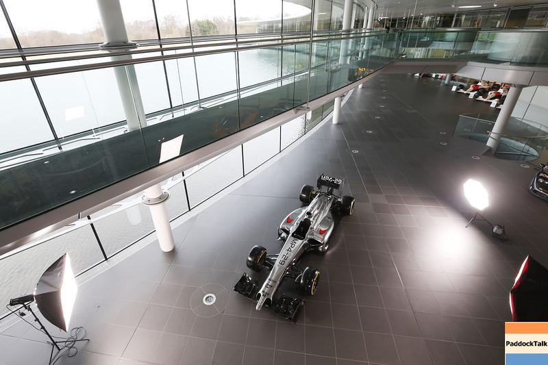 2014 McLaren  MP4-29  Courtesy of McLaren