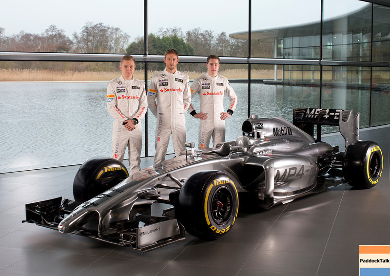 2014 McLaren  MP4-29 <br /> Courtesy of McLaren