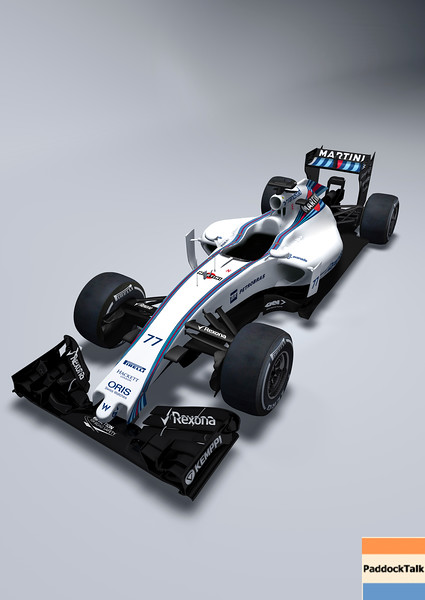 January 2015<br /> The Williams FW37<br /> Photo: Williams F1 <br /> ref: Digital Image FW37_2
