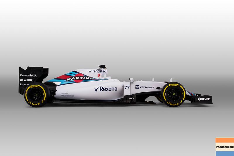 Williams FW37 Mercedes Studio Images.<br /> January 2015.<br /> Photo: Williams F1 Team<br /> ref: Digital Image _L5R8171 Bottas