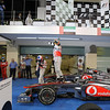 2011 Abu Dhabi Grand Prix - Sunday<br /> Yas Marina Circuit, Abu Dhabi, United Arab Emirates<br /> 13th November 2011.<br /> Lewis Hamilton, McLaren MP4-26 Mercedes. <br /> Photo: Lorenzo Bellanca/LAT Photographic <br /> ref: Digital Image GU5G9788