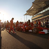 2011 Abu Dhabi Grand Prix - Sunday<br /> Yas Marina Circuit, Abu Dhabi, United Arab Emirates<br /> 13th November 2011.<br /> Felipe Massa, Ferrari 150° Italia. <br /> Photo: Lorenzo Bellanca/LAT Photographic <br /> ref: Digital Image GU5G7910