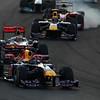 2011 Abu Dhabi Grand Prix - Sunday<br /> Yas Marina Circuit, Abu Dhabi, United Arab Emirates<br /> 13th November 2011.<br /> Sebastian Vettel, Red Bull Racing RB7 Renault. <br /> Photo: Lorenzo Bellanca/LAT Photographic <br /> ref: Digital Image GU5G8554